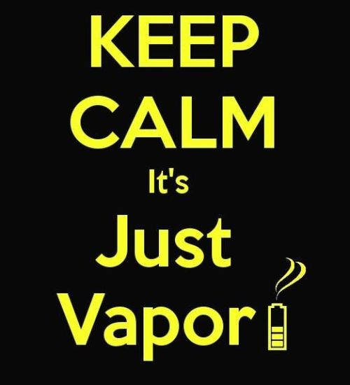 its just vapor meme