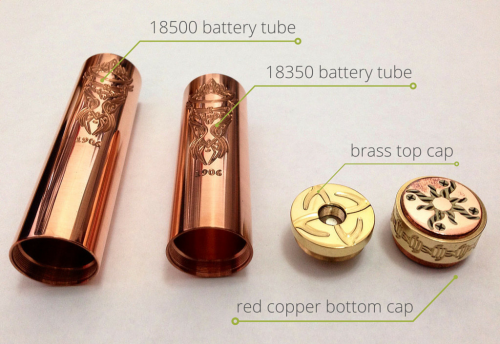 multiple battery tubes