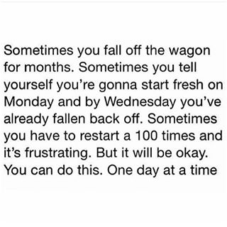 You can do this. One day at a time.