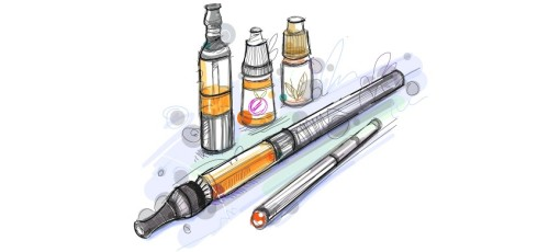 Personal Vaporizers and E-Juice Bottles