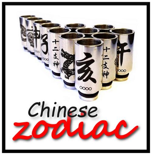RJ MODS Chinese Zodiac Drip Tips